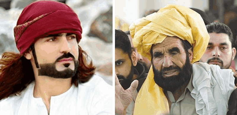 Image result for naqeebullah mehsud with father