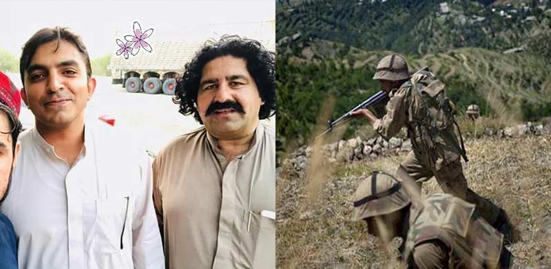 Ali Wazir and Mohsin Dawar