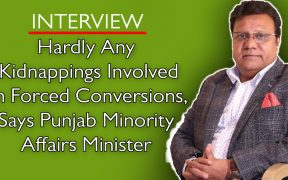 Puunjab Minority Affairs Minister Ejaz Alam