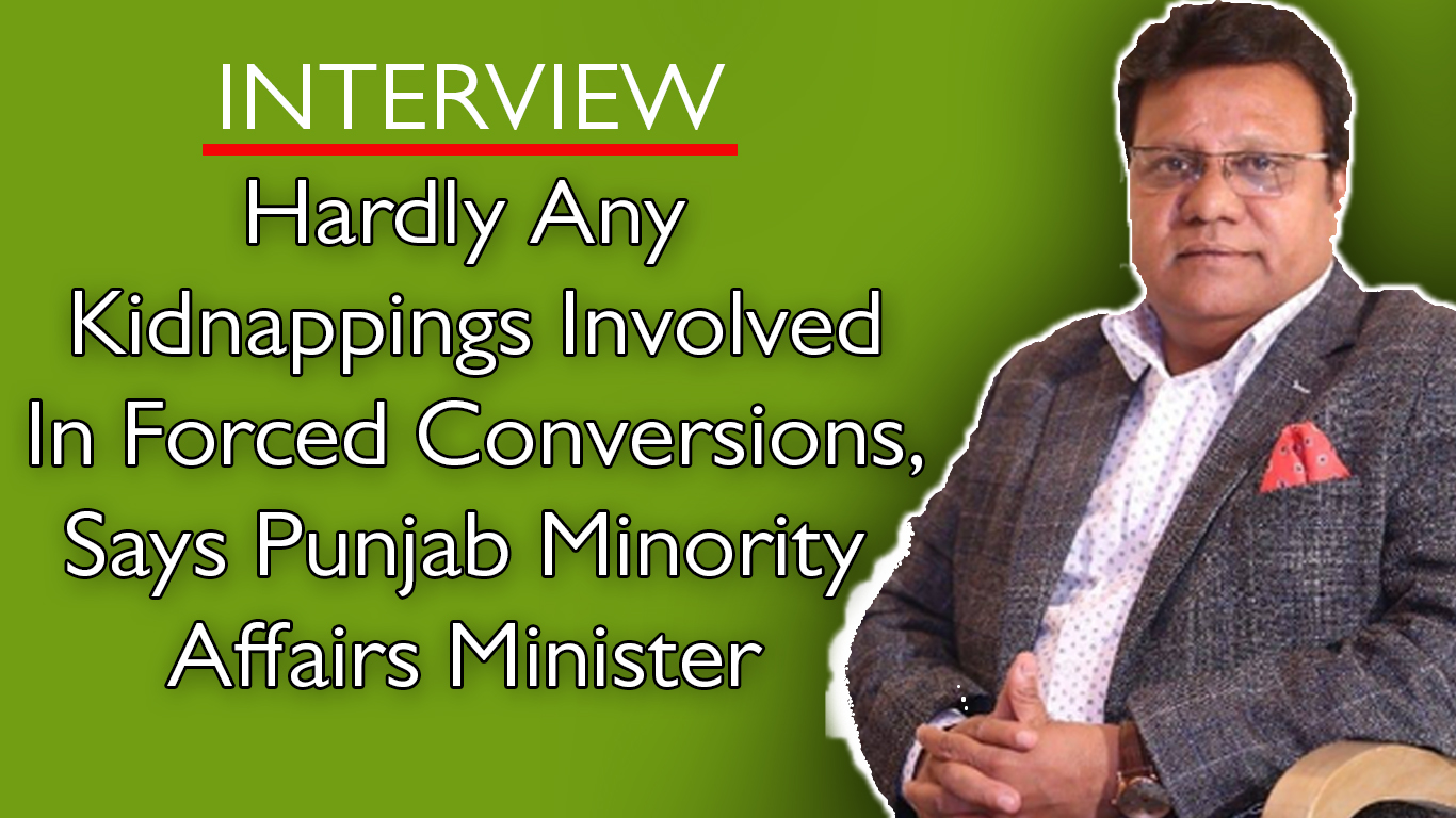 Interview with Punjab's Minister for Human Right and Minority Affairs Ejaz Alam