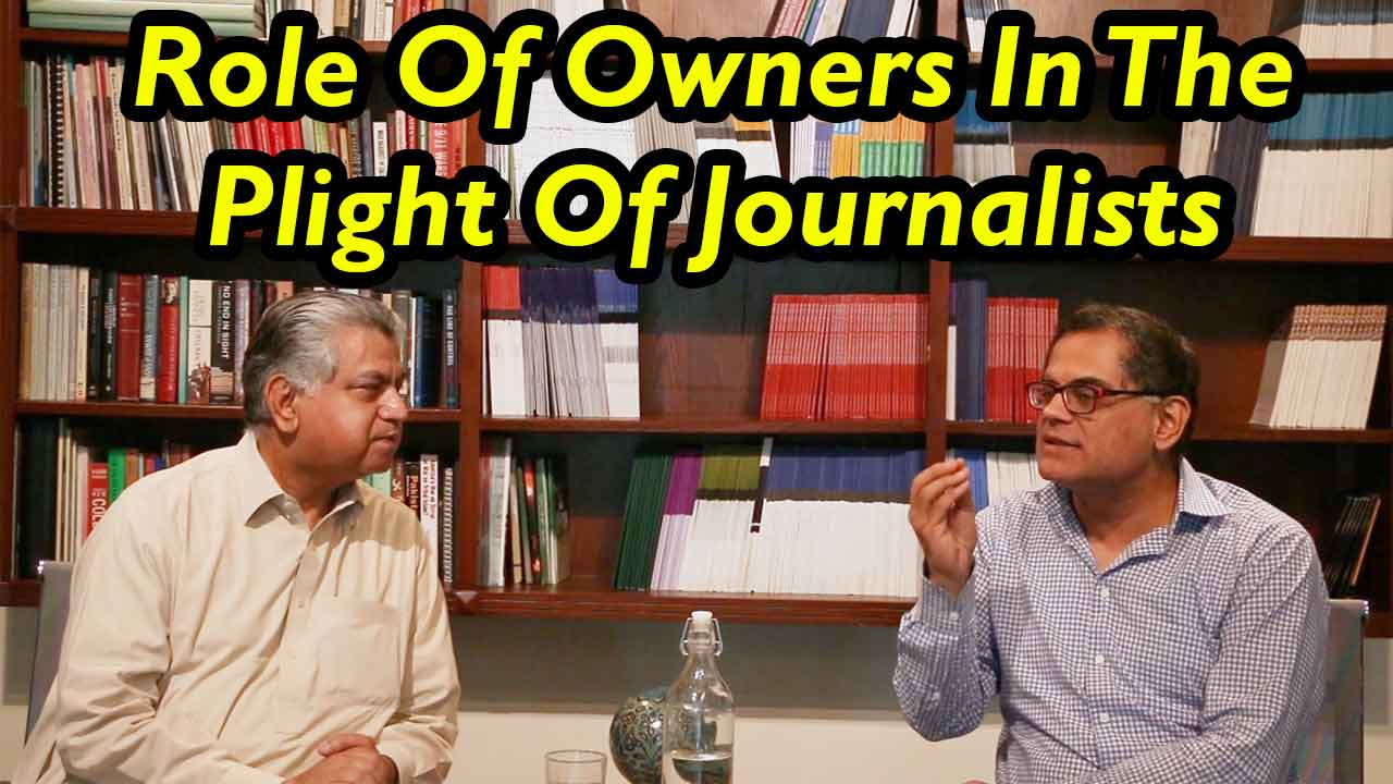Murtaza Solangi And Raza Rumi Discuss Plight Of Media Workers In Pakistan