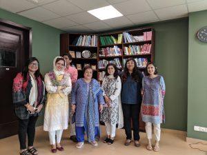 Dr  Shireen Mazari Meets Women Journalists, Assures Action Against