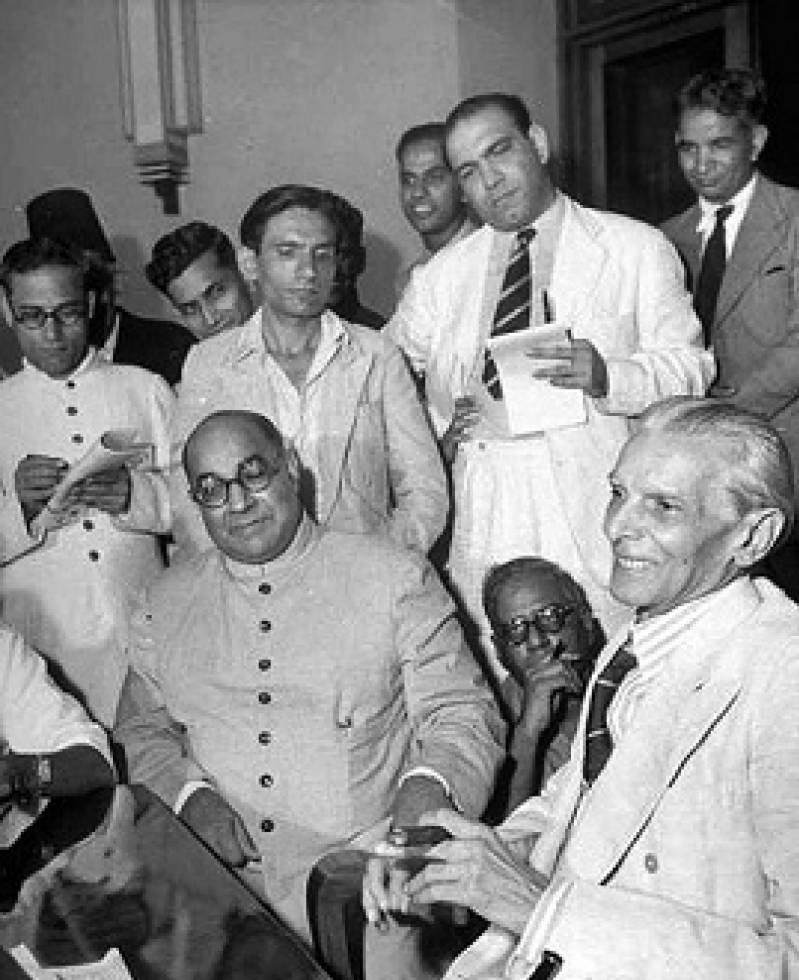 In July 1947, a month before the creation of Pakistan, AIML leaders Jinnah and Liaquat Ali Khan told reporters that they would want Kashmir to become part of Pakistan, but would also support an 'independent Kashmir' (that is neither part of Pakistan nor India).