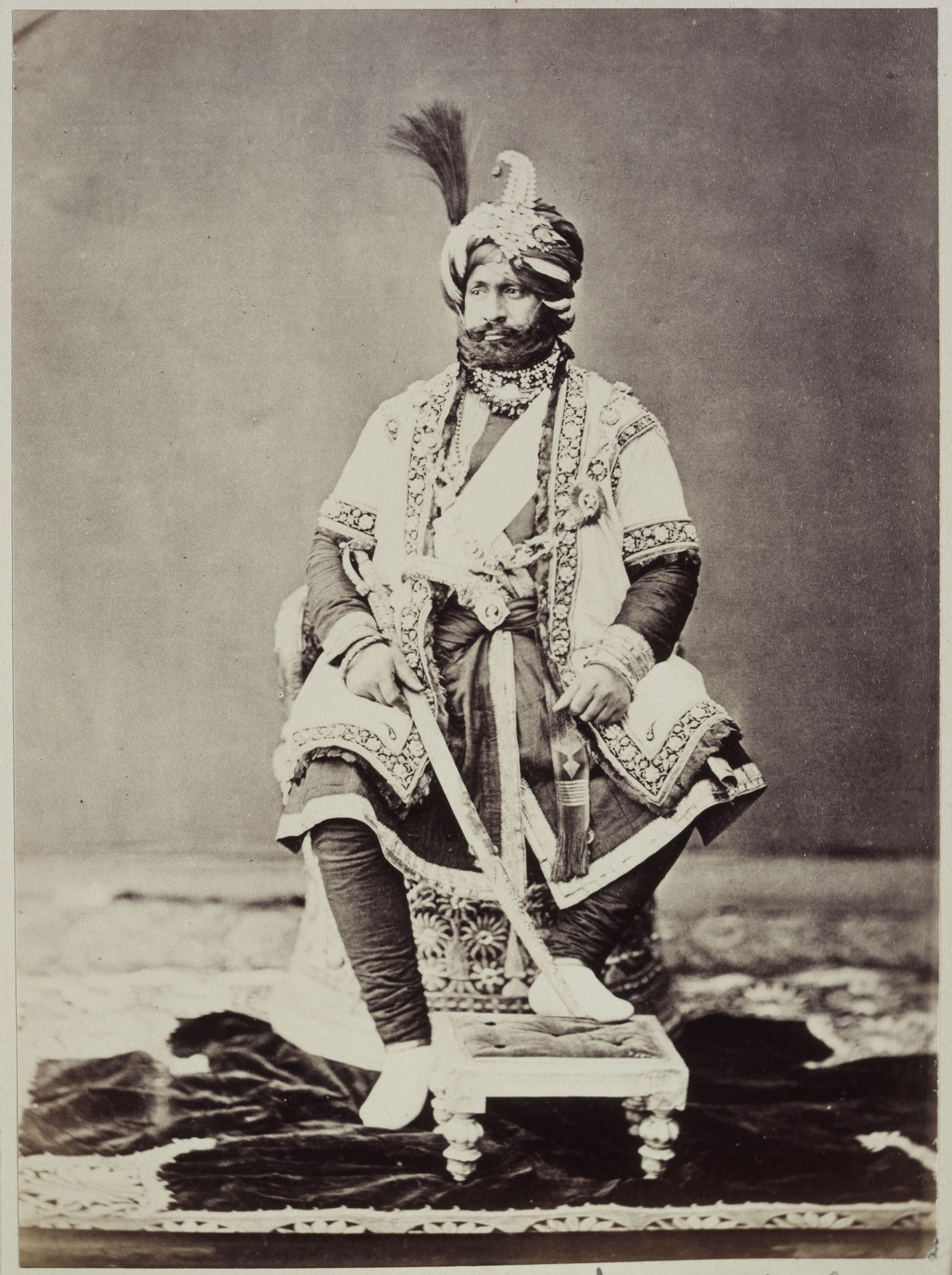 The British agreed to let Gulab Singh become the first Maharaja of Jammu Kashmir.