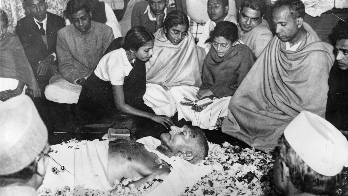 In January 1948, Indian nationalist leader, Mahatma Gandhi, was assassinated by a Hindu nationalist.