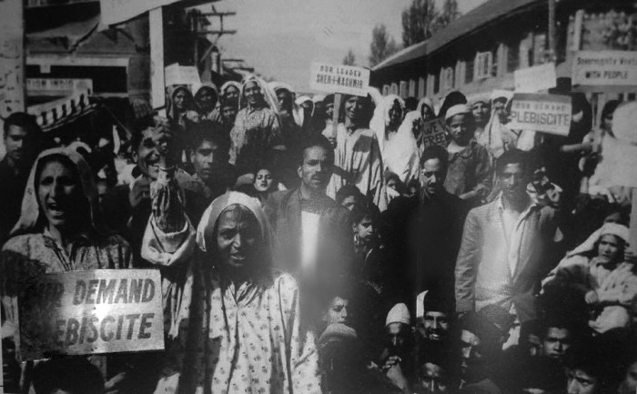 In March 1948, the UN Security Council passed Resolution 47 that asked India and Pakistan to resolve the Kashmir issue through a plebiscite.