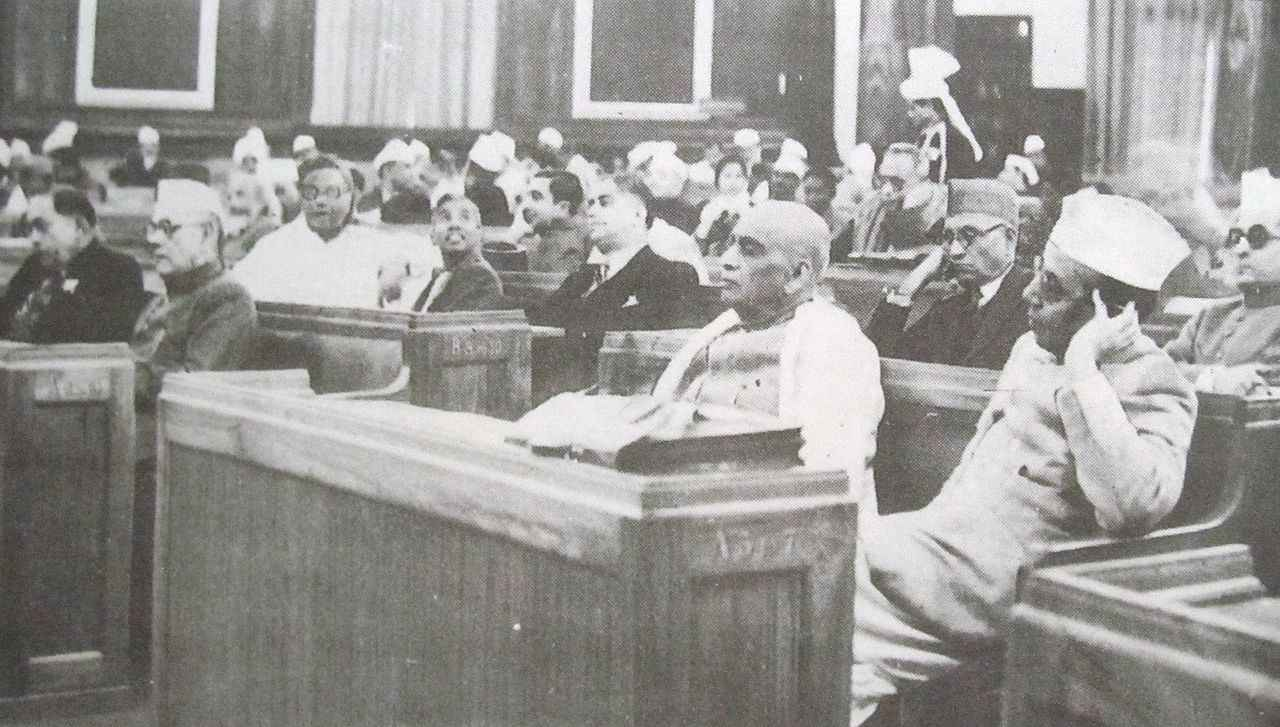 In October 1949, theIndian Constituent AssemblyadoptedArticle 370of the Constitution, ensuring a special status and internal autonomy for Jammu and Kashmir, with Indian jurisdiction in Kashmir limited to the three areas agreed in the Instrument of Accession: defense, foreign affairs and communications.