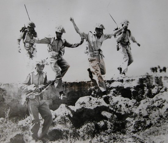 The second Pakistan-India War (1965). The war ended in a stalemate in January 1966.