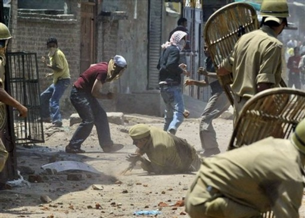 In 2008, massive protests erupted once again in J&K.