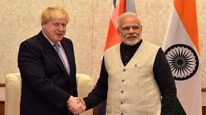 Modi Calls Boris, Complains About Pro-Kashmir Protests Outside India's HC In London
