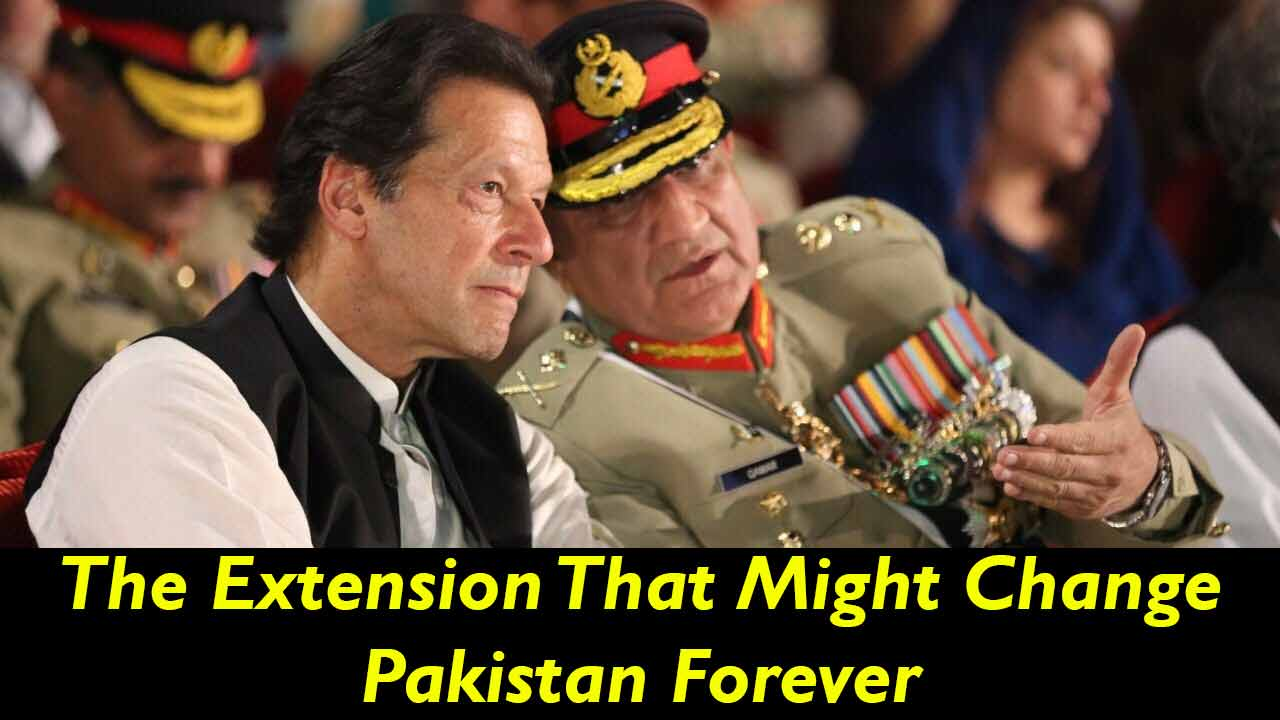 General Bajwa Given Extension  Is Imran Khan's Decision