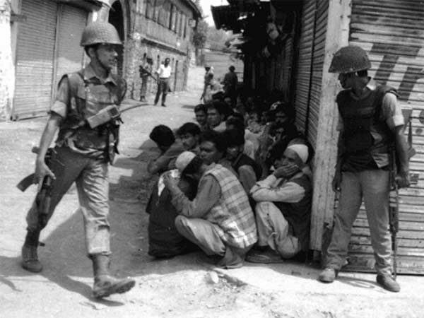 In 1988, violent protests erupted in J&K. Dozens were killed and many arrests were made.