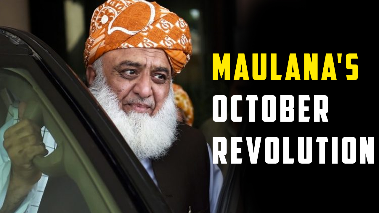 Maulana's 'October Revolution': Is Winter Coming To Islamabad?