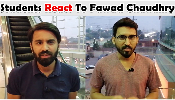 Students React To Fawad Chaudhry's Statement About Employment Opportunities