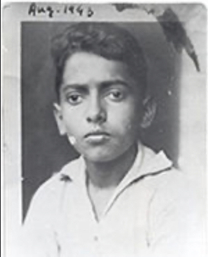 Eqbal Ahmad. He was just 9 when he witnessed the murder of his father.