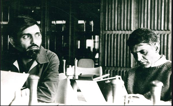 Waiting to interview Ayatollah Khomeini, 1978.