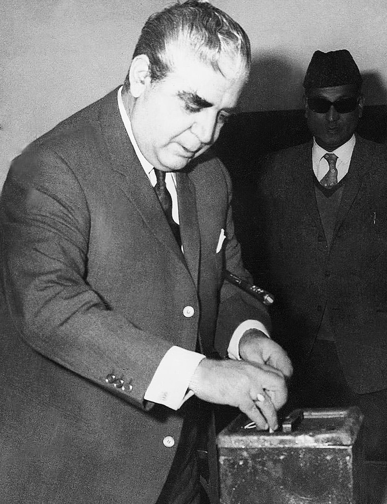 Yahya Khan. Polling on a prayer.