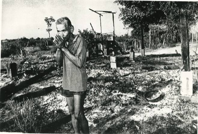 The 'Maoist' Khamer Rouge in Cambodia (1975-79) completely abolished religion in the country. Thousands of Buddhist priests were killed or tortured and places of worship destroyed.